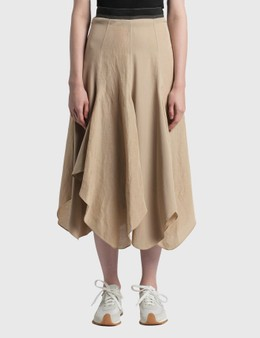 Loewe Petal Hem Skirt