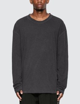 Maison Margiela Garment Dye Long Sleeve T-Shirt