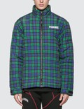 Pleasures Decades Plaid Puffer Jacket Picutre
