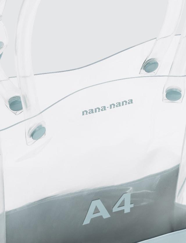 Nana-nana PVC X Opaque A4 Tote Bag