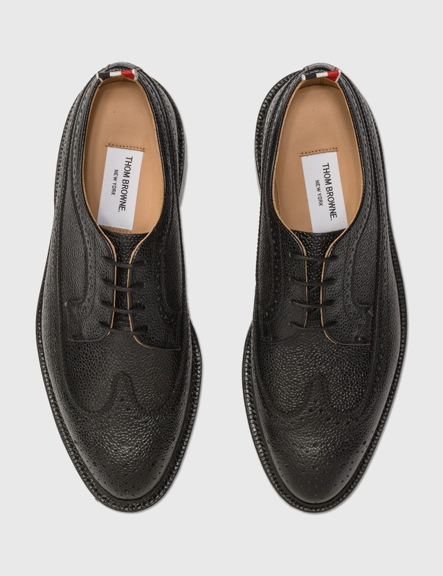 Thom Browne Classic Longwing Brogue Black Men