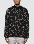 Mastermind World All Over Logo Print Sweatshirt Picutre