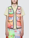Stussy Ridge Tie Dye Hiking Vest