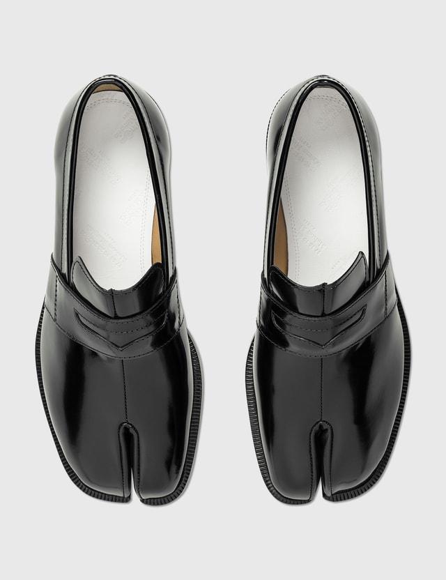 Maison Margiela Tabi Leather Loafers Black Women