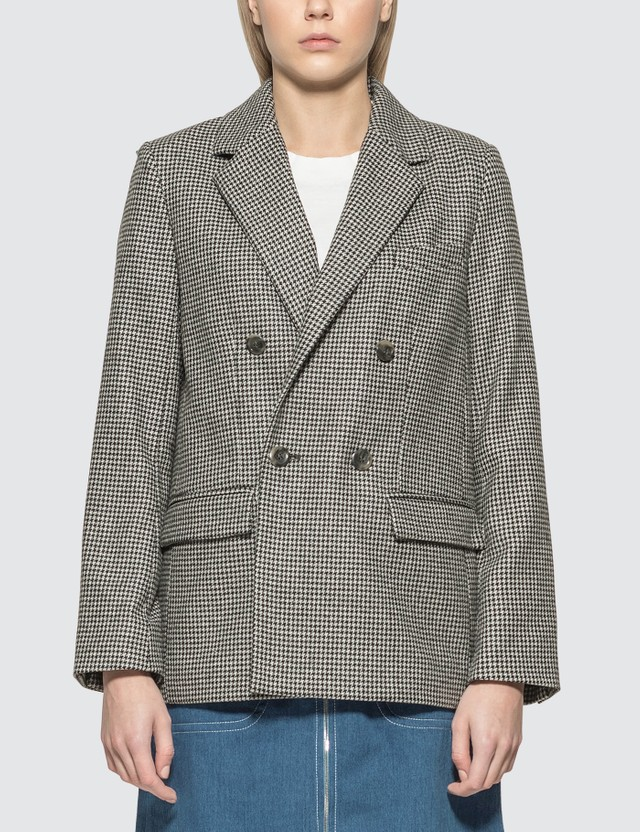 A.P.C. Plum jacket Lza Faux Noir Women
