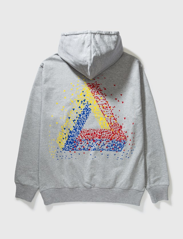 Palace Skateboards Palace Tri-Flect Hoodie Grey Archives