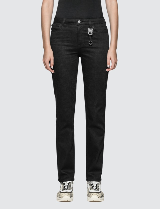 1017 ALYX 9SM Slim Fit Jeans With Nylon Buckle
