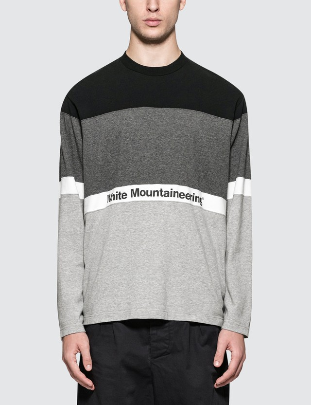 White Mountaineering Contrasted Sweatshirt