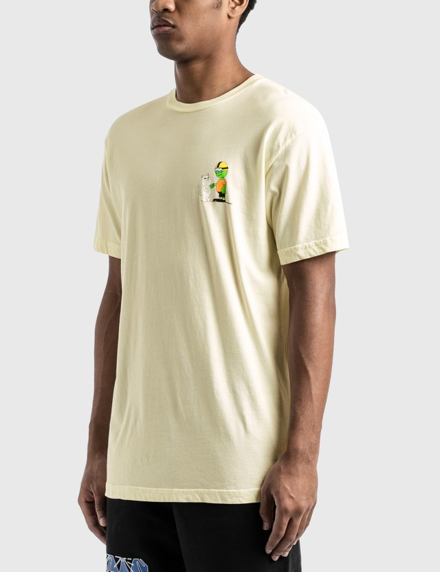 RIPNDIP 10 Steps 4 Pussy T-Shirt Natural Men