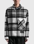 We11done Check Anorak Wool Shirt Picture