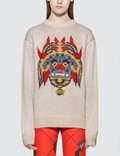 Kirin Haetae Jacquard Knitted Sweater Picture