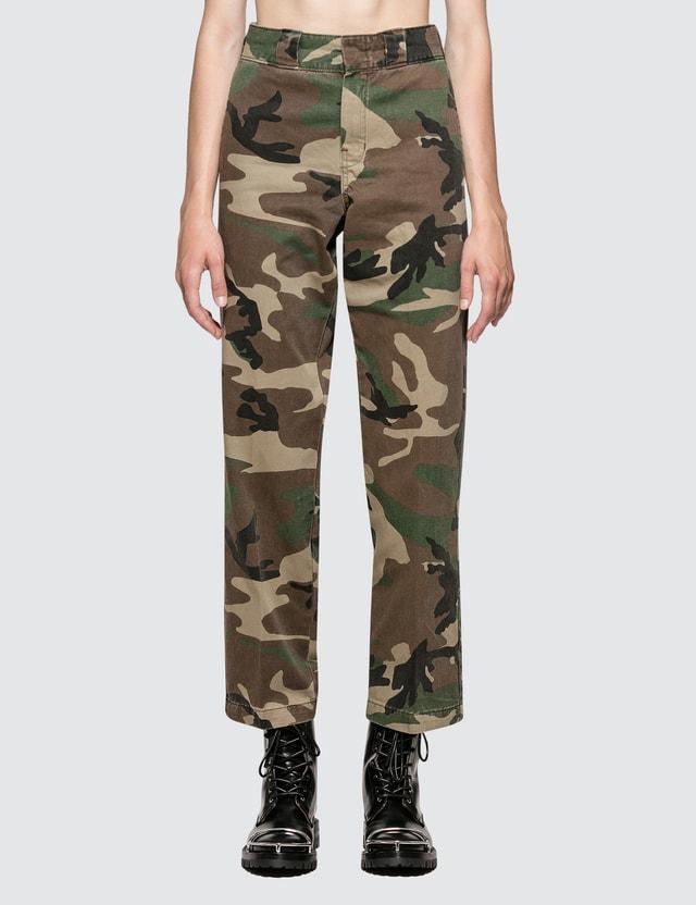 R13 Camo Siwch Pants Camo Women