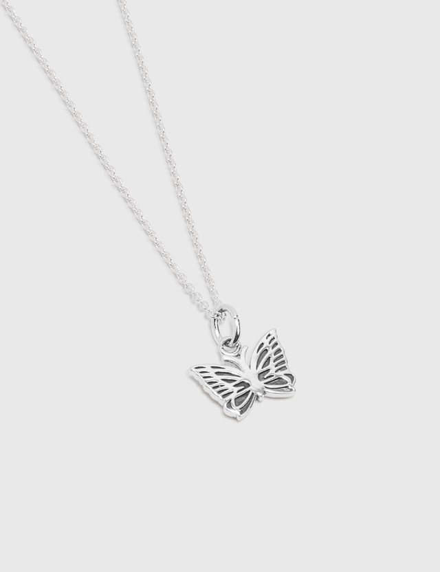 Needles 925 Silver Papillon Pendant