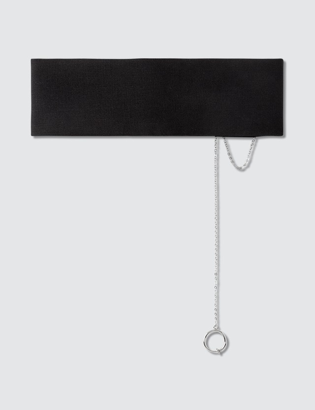 Hyein Seo Choker With Metal Letters & Earing