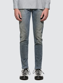 Represent Distressed Denim Jeans