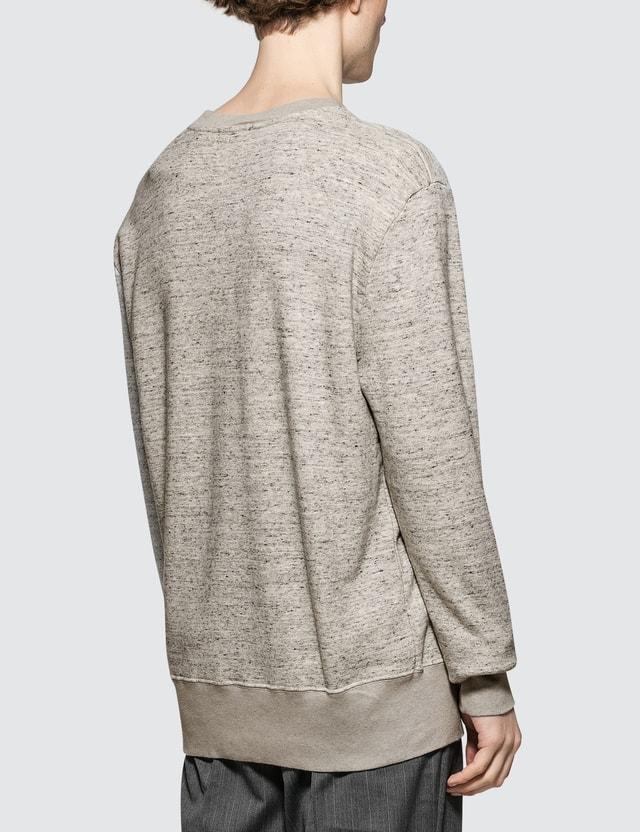 Maison Kitsune Limone Patch Sweatshirt