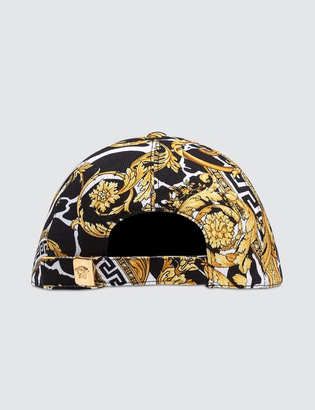 Versace Savage Barocco Print Cap