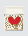 """Ligne Blanche Keith Haring """"Red Heart With Gold"""" Perfumed Candle Picture"""
