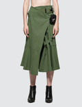 Hyein Seo Military Wrap Skirt Picture
