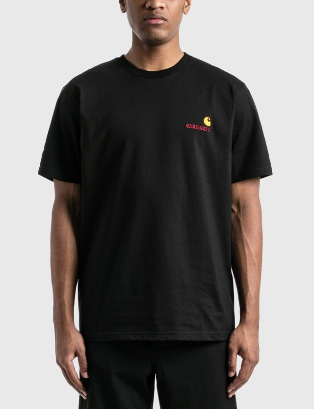 Carhartt Work In Progress Carhartt WIP x Wacko Maria Logo T-Shirt Wacko Maria Black Men