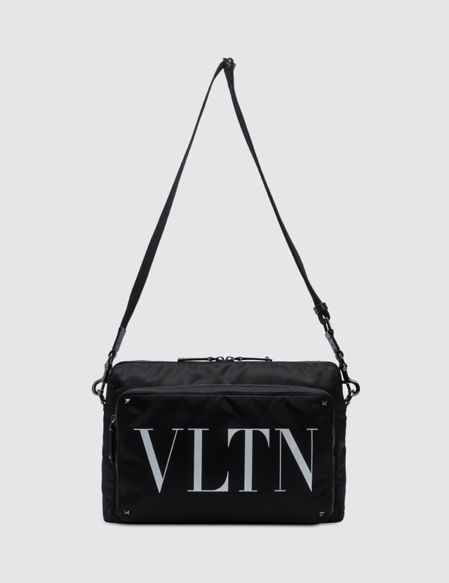 Valentino VLTN Rock Stud Nylon Messenger