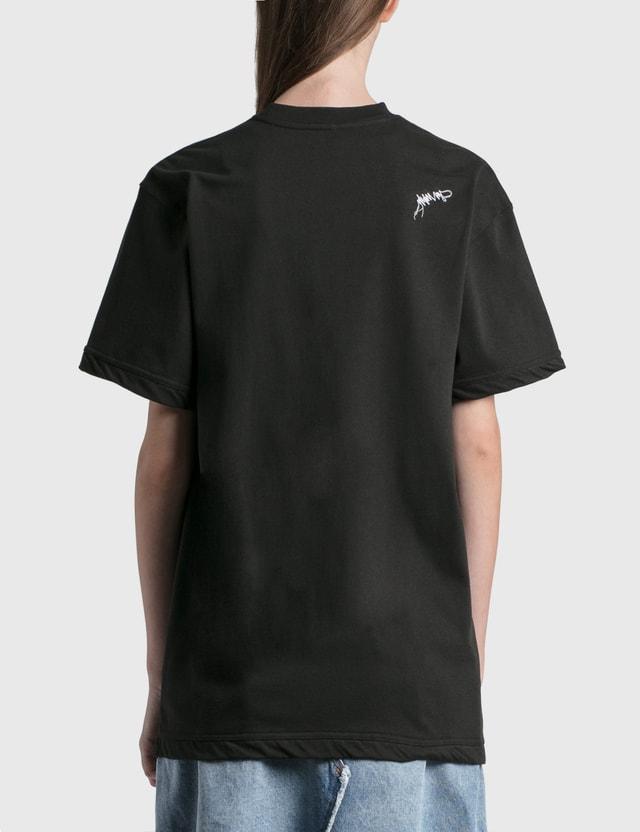 Ader Error Foil Tape Logo T-Shirt Black (black) Women