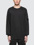 CP Company Garment Dyed Light Fleece Sweatshirt Picture
