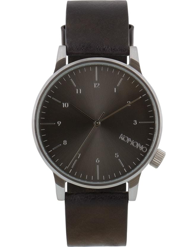 Komono Black Winston Regal Watch