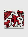Ligne Blanche Keith Haring Limoges Square Candle White Unisex