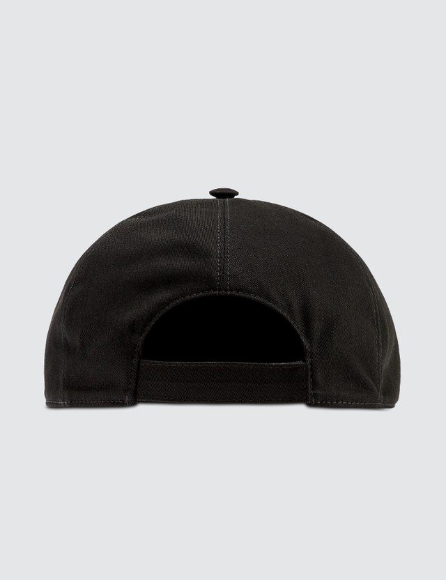 Versace Embroidered Logo Cap Nero/ Black Men