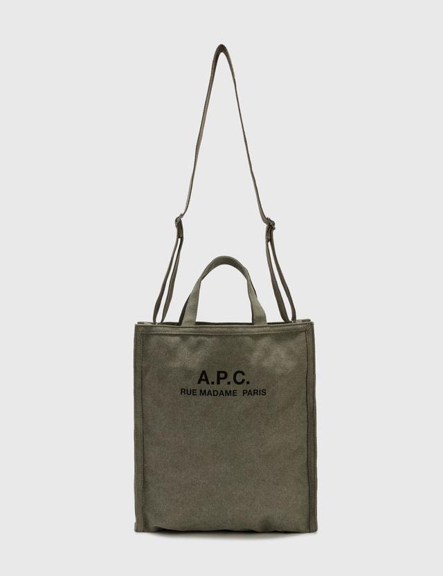 A.P.C. Recuperation Tote Bag Khaki Men