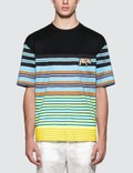 Prada Stripe Box Fit S/S T-Shirt Picutre