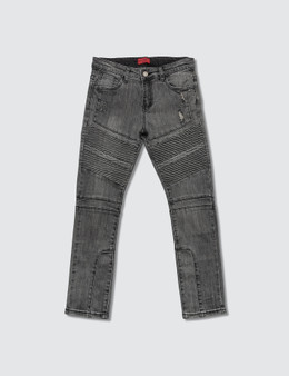 Haus of JR Ragazzi Double Biker Jeans