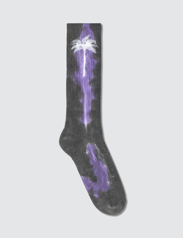 Palm Angels Tie Dye Palm Socks