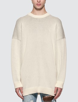 Raf Simons Oversized Sweater with Print