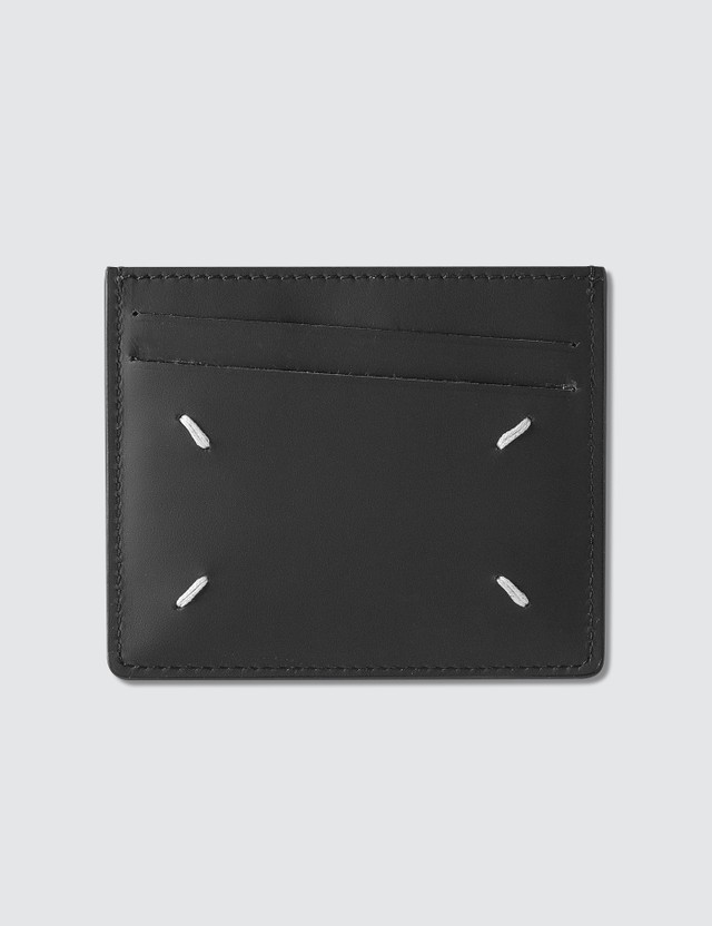Maison Margiela Leather Card Holder Brown Men