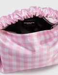 Alexander Wang Scrunchie Mini Bag Cradle Pink/white Women