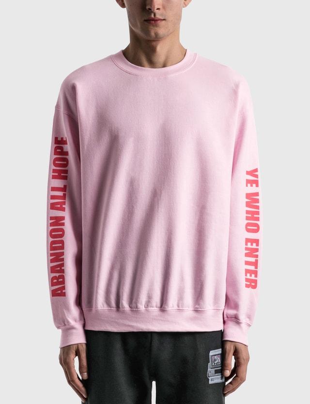 Hypebeast Cali Thornhill Dewitt x Hypebeast Sweatshirt Pink  Unisex