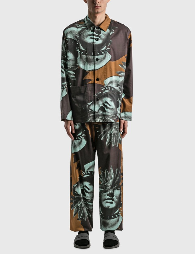 Undercover Pajamas Set Brown Base Men