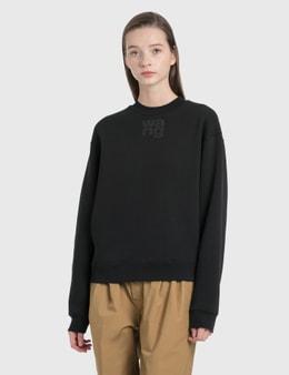 Alexander Wang.T Foundation Terry Crewneck Sweatshirt