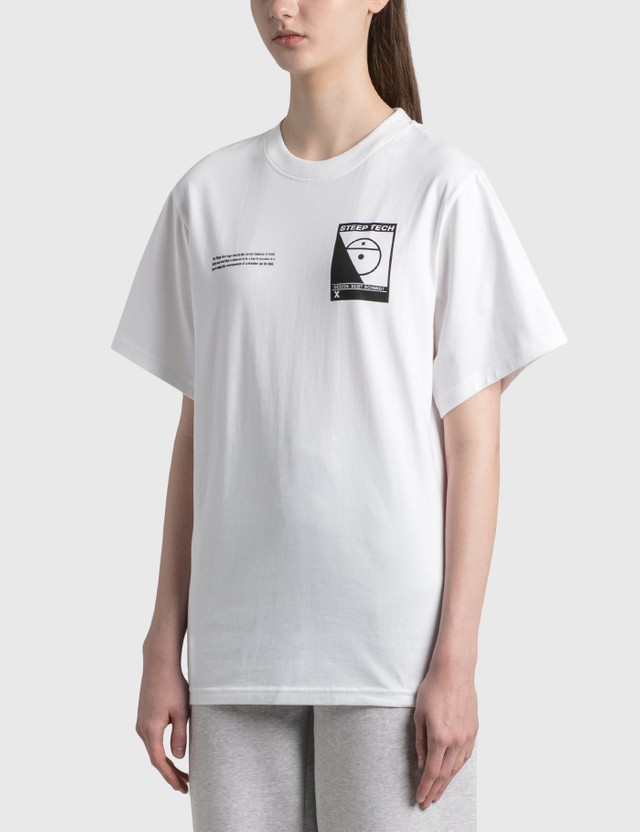 The North Face Steep Tech Logo T-Shirt Tnf White Women