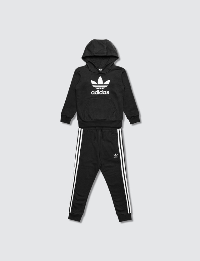 Adidas Originals Trefoil  Hoodie and Pants Set