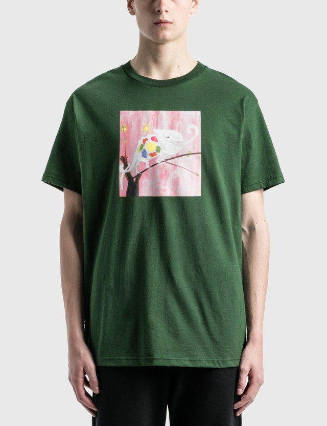 Divinities Camoflauge T-Shirt Dark Green Men