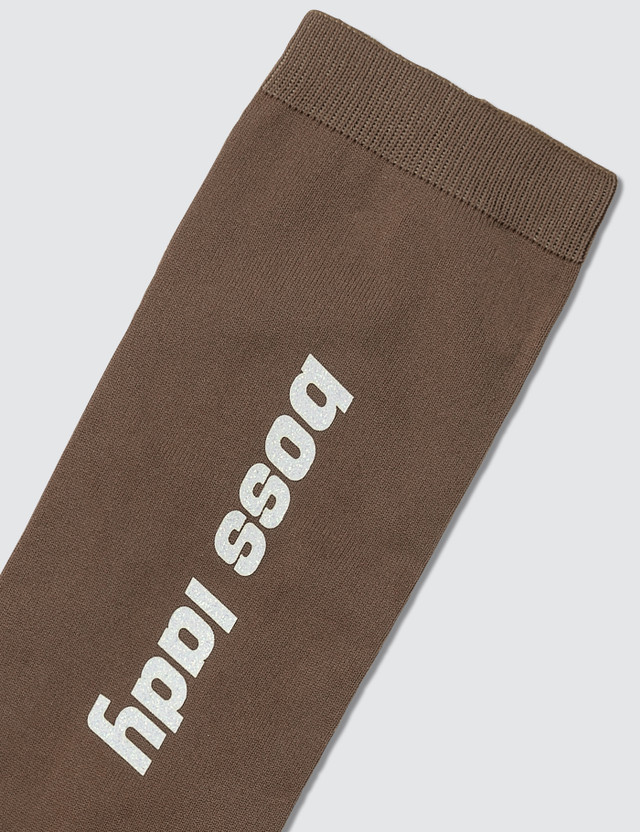 Ganni Classon Print Socks
