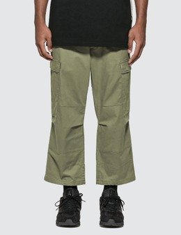 SOPHNET. Cropped Wide Cargo Pants