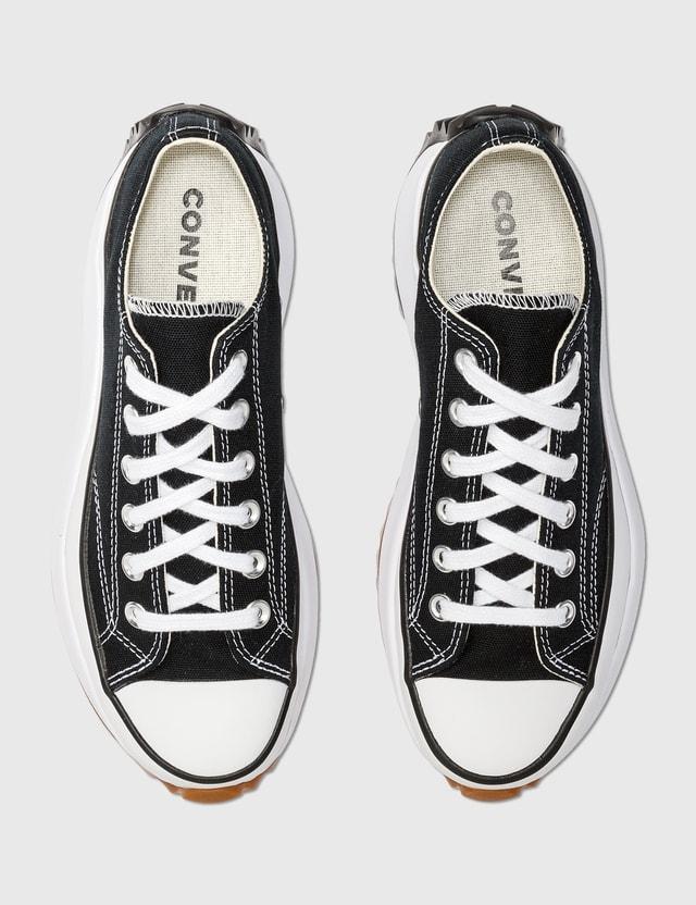 Converse Run Star Hike Low Sneaker Black/white/gum Women