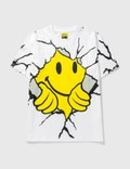 Chinatown Market Smiley Dry Wall Breaker T-shirt 사진