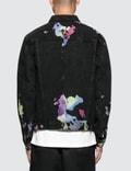 GEO Multilayered Denim Jacket Multicolor Men