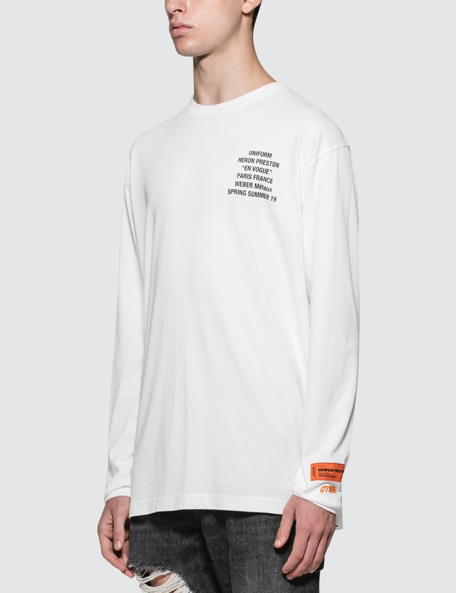 Heron Preston Metal Worker L/S T-Shirt