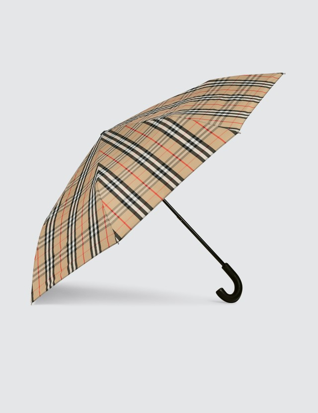 Burberry Vintage Check Folding Umbrella